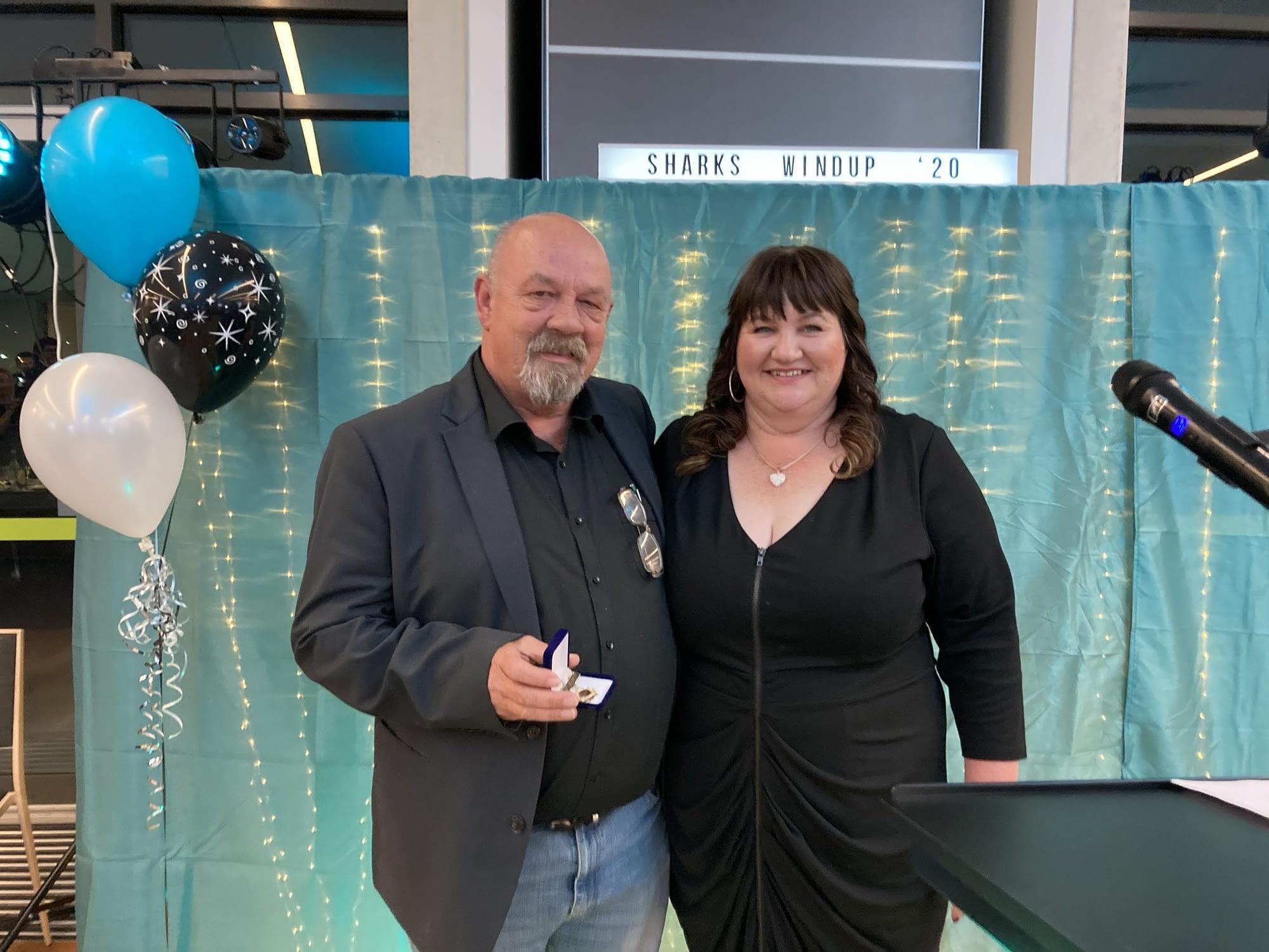 Geoff Oldfield & Tracy Blaszkow